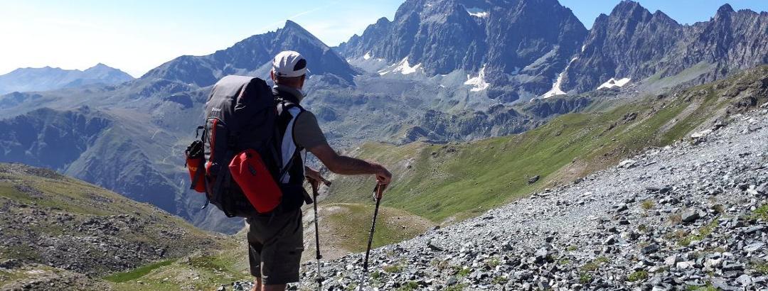 Der Monviso 3841m, Cottische Alpen