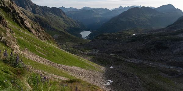 Blick auf den Vermuntstausee (c) Martin Vogel / Vorarlberg Tourismus