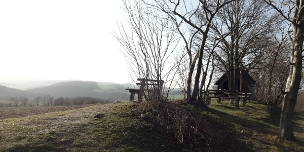 Ausblick vom Heideberg