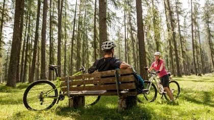 Mountainbiketour in der Zugspitz Arena Bayern-Tirol