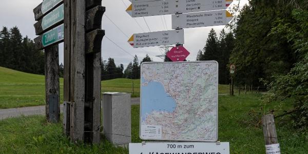 Startpunkt Moosegg am Pfänder (c) Martin Vogel / Vorarlberg Tourismus
