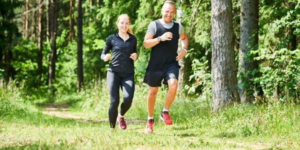 Laufen im Naturpark Pöllauer Tal