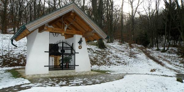 Hubertus-kápolna az osztrák-magyar határ közelében