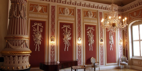 Festsaal im Vogtlandmuseum Plauen