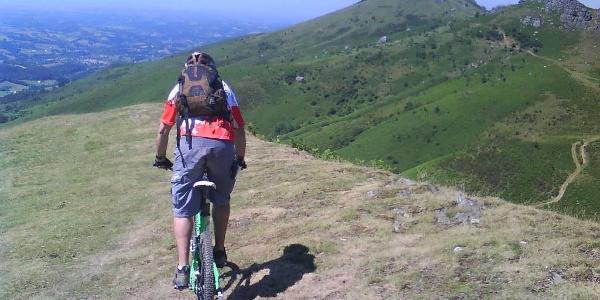 La Grande Traversée VTT du Pays basque - Bidarray à Sare