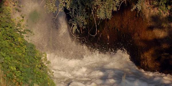 Chute d'eau du Canal d'Urgell