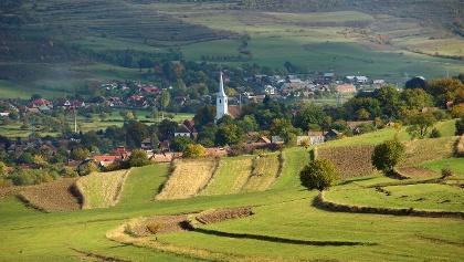Landscape image from Transylvania