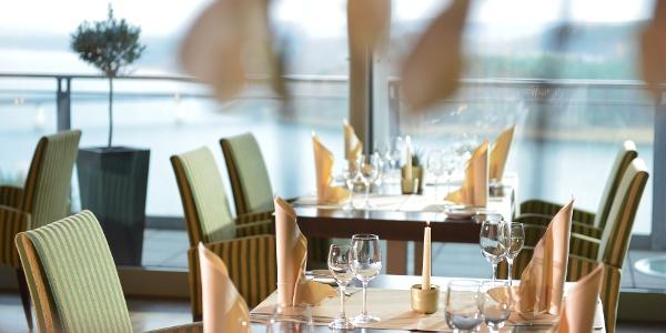 Panorama-Restaurant im Bio-Seehotel