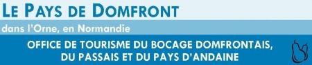 Logo Office de tourisme du Bocage Domfrontais