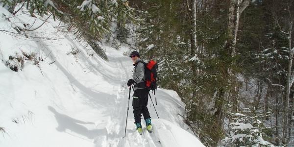 Aufstieg Dürrnbachtal