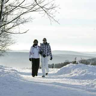 Winterwandern in der Ferienwelt Winterberg