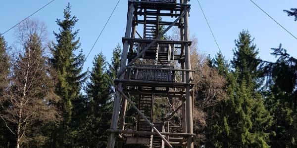 Holzturm auf Salzkopf (627m)