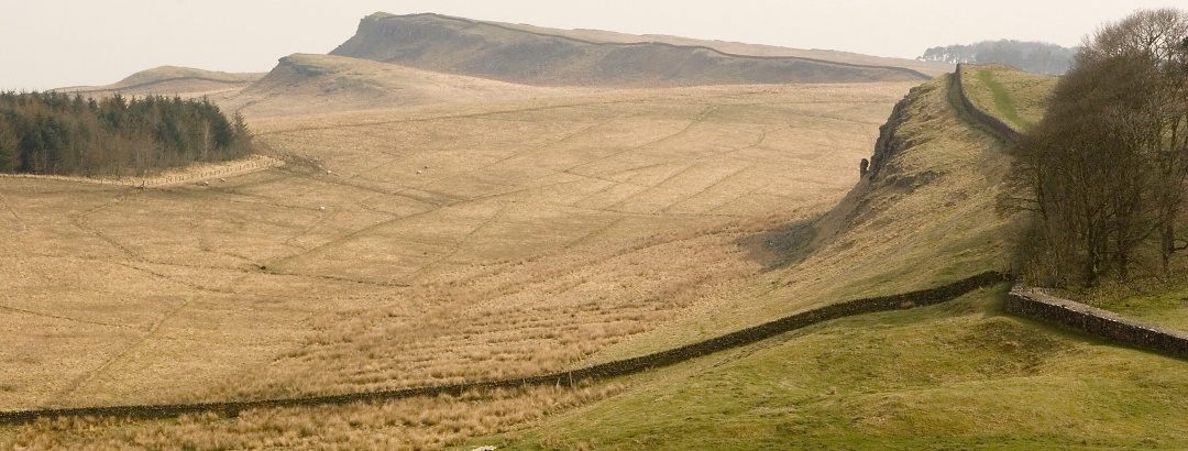 Hadrina's Wall in Northumberland