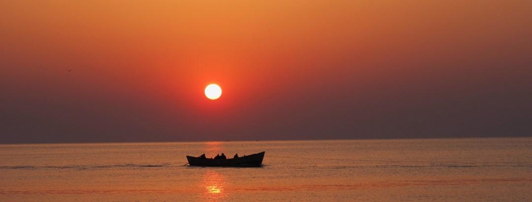 Pescari în largul Mării Negre