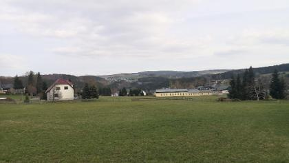 Blick über Niederlauterstein nach Zöblitz