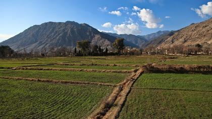 Landschaft in Afghanistan