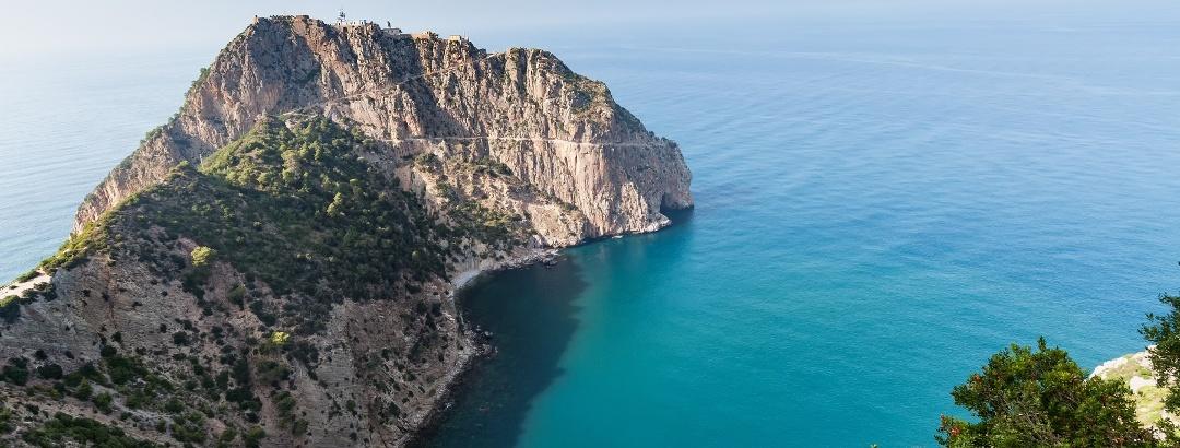 Mittelmeerküste in Bejaia
