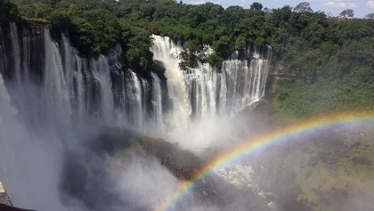 Kalandula Waterfalls in Angola
