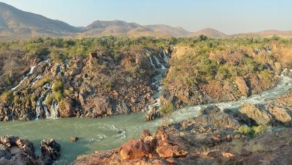 Landscape in Angola