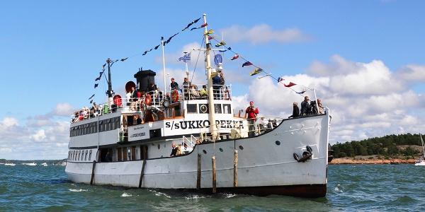 The historic UkkoPekka steamship