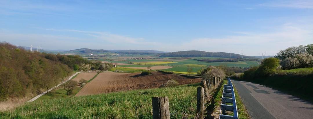 Blick vom Hasselburg