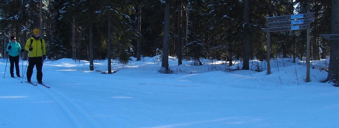 Hepokankaan lenkki ski trail