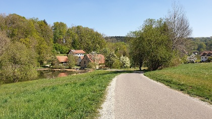 Abfahrt zur Talmühle