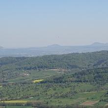 Blick zu den 3 Kaiserbergen