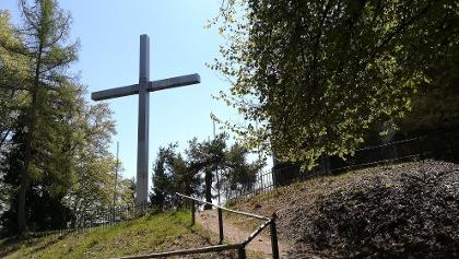 Heimkehrerkreuz am Ulrichsberg - Nordwestansicht