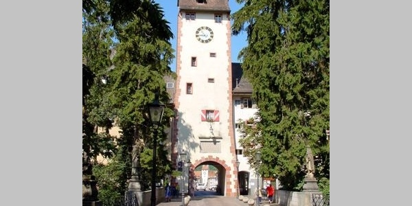 Startpunkt am Oberen Tor in Waldshut