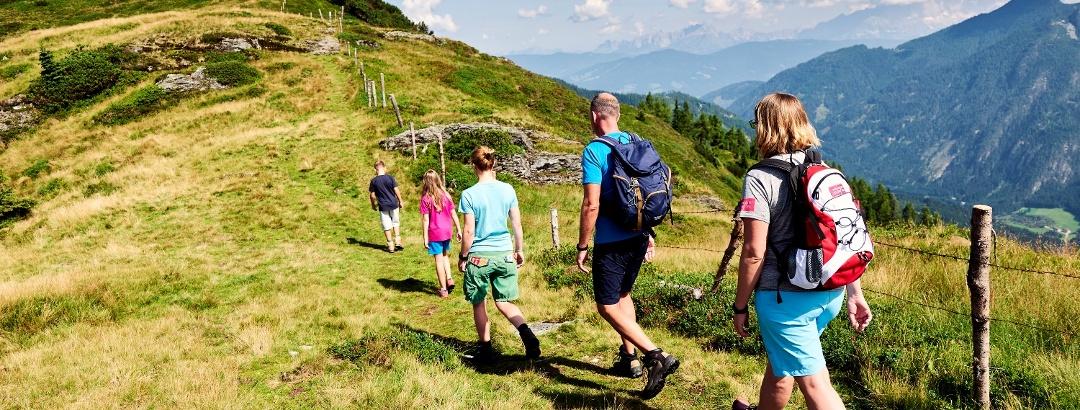 Wanderer in Wagrain-Kleinarl