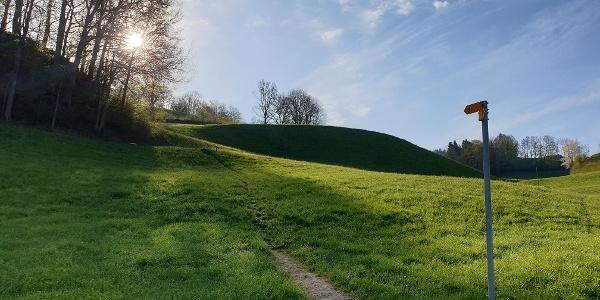 Aufstieg Richtung Lindenegg