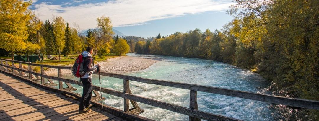 The Sava River, Radovljica