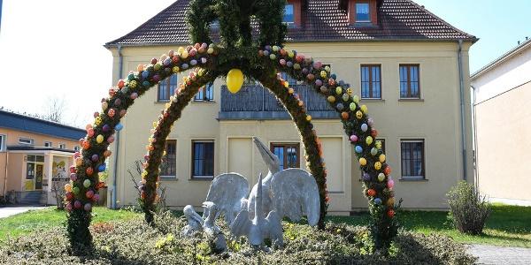 Pelikanbrunnen Wünschendorf