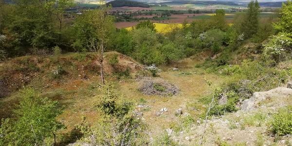 Steinbruch bei Friedland
