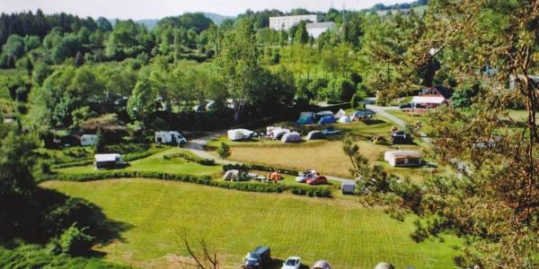 Blick auf den Campingplatz in Harra
