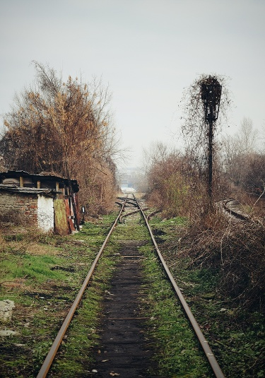 Sillgelegte Gleise