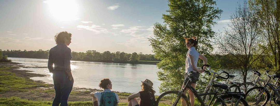 Sur les bords de la Loire à Tours
