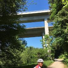 Sulzbach Viadukt Autobahn und DB