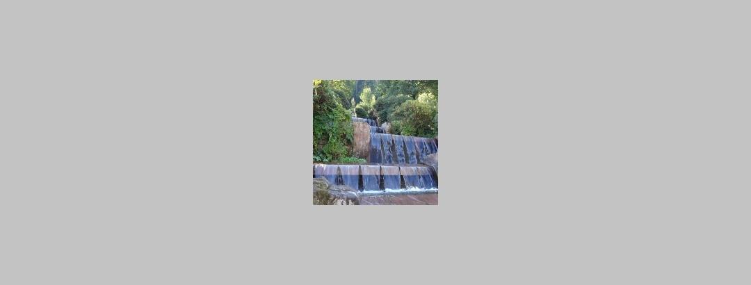 Wasserfall im Kurpark