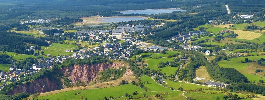 Altenberg Luftbild