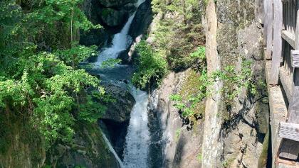 Cascade de Triège dans la vallée du Trient
