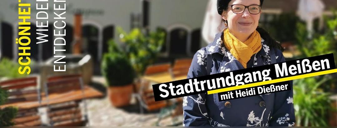 Virtuell durchs Dresden Elbland - Der Online Stadtrundgang durch Meißen.