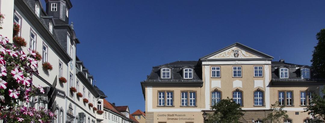 Rathaus und Amtshaus in Ilmenau