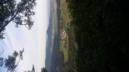 Blick vom Dreifürstenstein auf den Hohenzollern