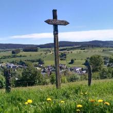 Aussicht auf Grönebach
