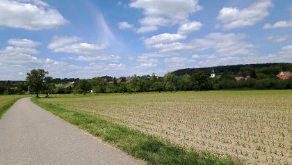 Weg bei Raithaslach