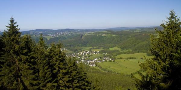 Blick vom Rösberg