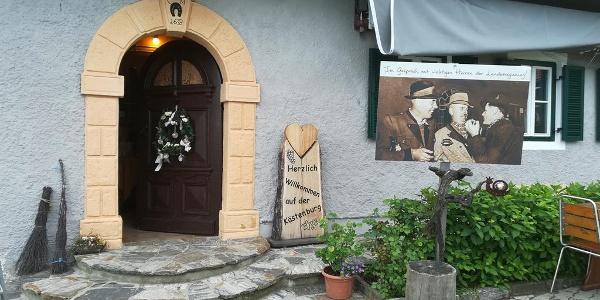 Kästenburg Eingang