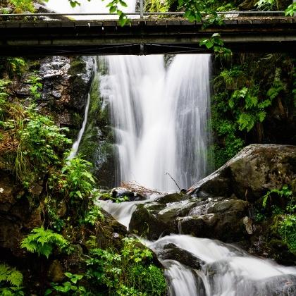 Der Todtnauer Wasserfall